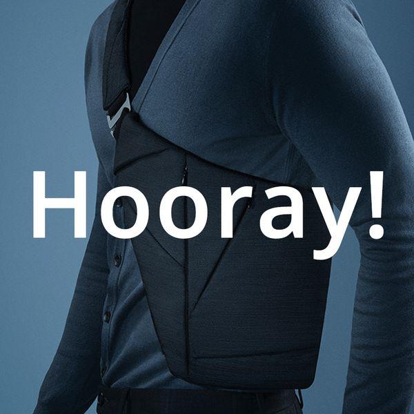 【話題の大本命】上にジャケットが着れるEDCボディバッグ!?Baggizmo/バッギズモは要チェック!