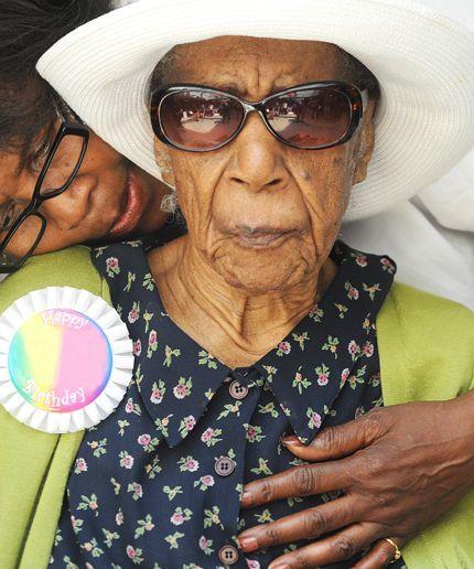 Happy birthday to the world's oldest living person, Susannah Mushatt Jones!