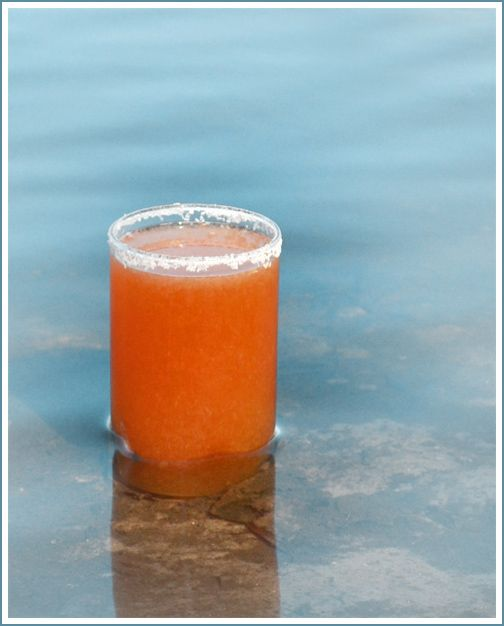 The Salty Tiger: beer and grapefruit juice. Most refreshing drink I've ever had.