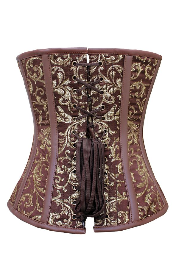 The brocade on this