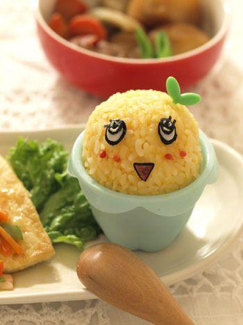 ふなっしーおにぎり Kawaii rice ball