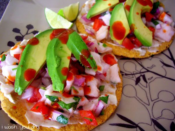 This ceviche recipe is to die for!