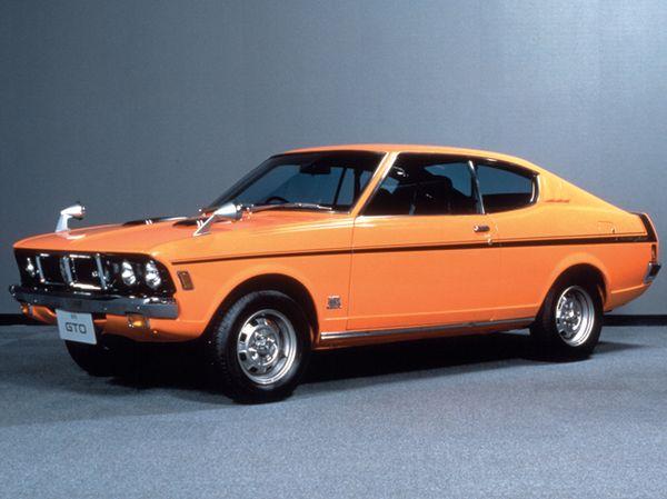ミニカスキッパーより先駆けること7ヶ月、1970年10月に発売され、人気を博していたコルトギャランGTO。スタイリング面ではミニカスキッパーと多くの共通要素を持つ。