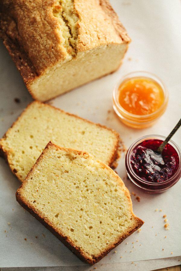 Recipe:  Fresh Ginger Lemon Cake