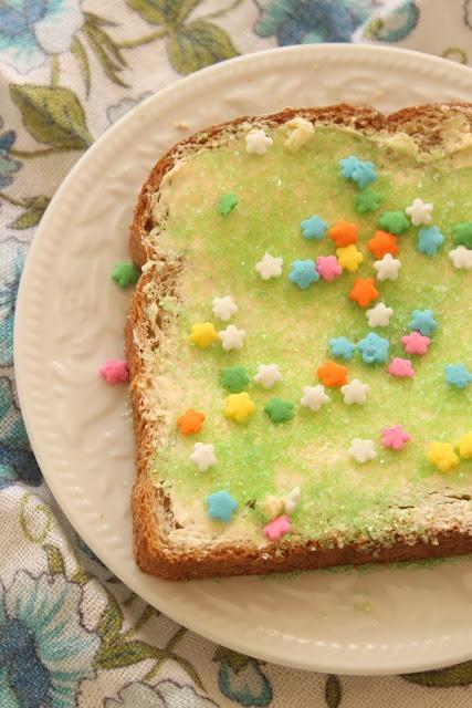 Fairy bread! So unhealthy but cute as can be=)
