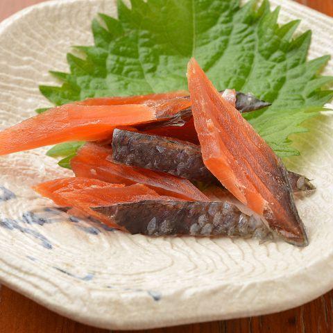 【北海道】鮭とば日の出横丁 富士八商店 なんば店