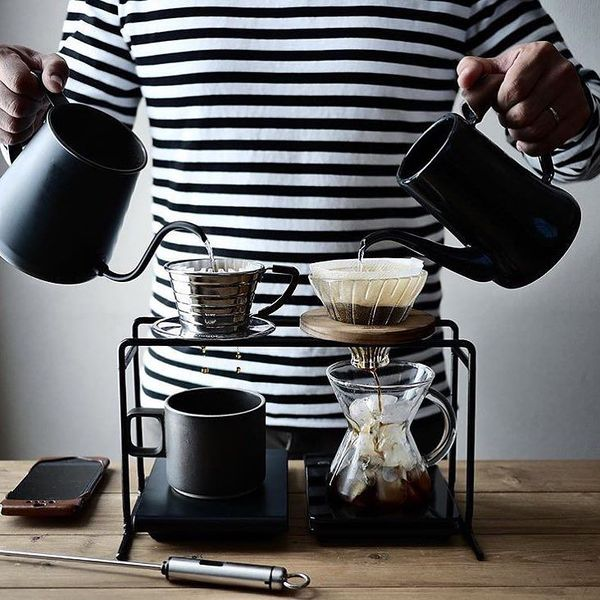 コーヒーポットで味も香りも雰囲気もワンランク上のスタイルへ