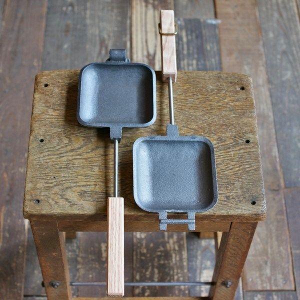 [予約商品]ROME Pie Irons #1105 Square Jaffle Iron - Rimba
