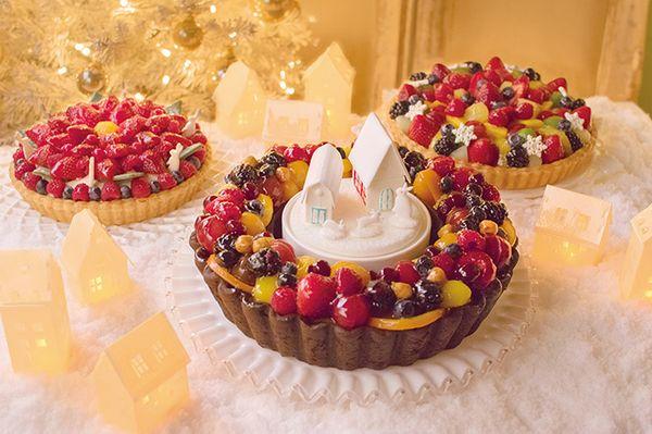 【2016】キルフェボンのクリスマスケーキ!フルーツタルトにも注目♡