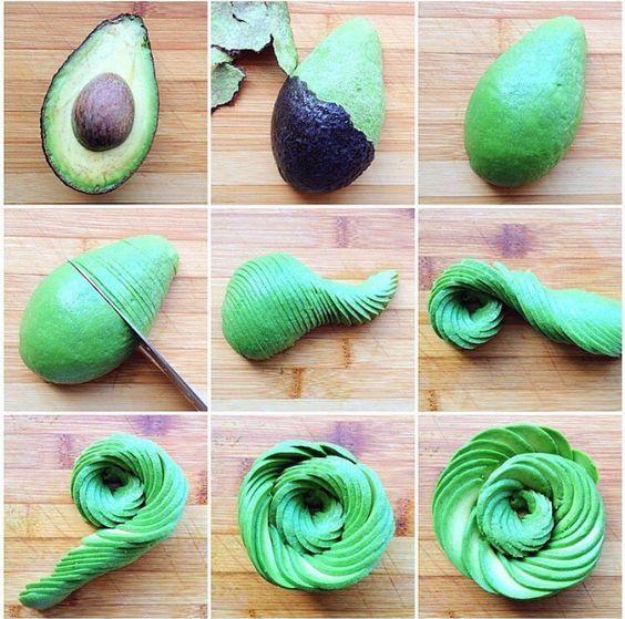 Avocadorose : connaissez-vous l'avocadorose qui transforme facilement un avocat en jolie rose - Elle à Table