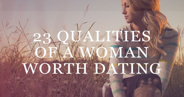 Signs shes not worth dating