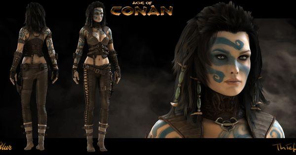 age of conan naked girl № 180537