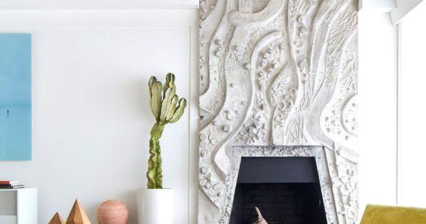 Wohnzimmerwand Stylisch