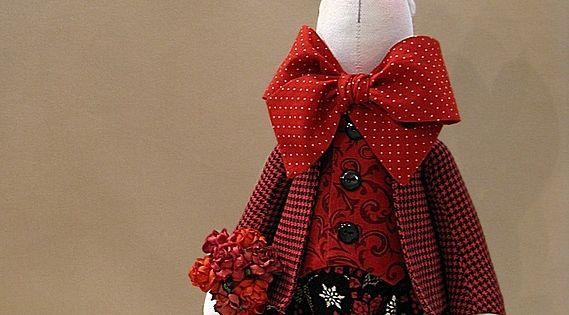 Мастер класс куклы из ткани и выкройки