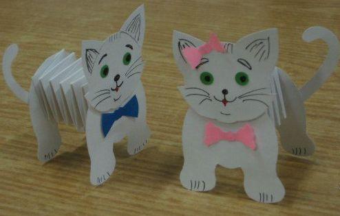 Как сделать из бумаги игрушку для котенка