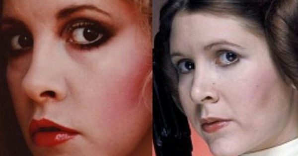 Stevie Nicks And Carrie Fisher They Could Be Sisters Bands And