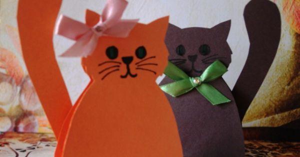Как из бумаги сделать игрушку для кошки