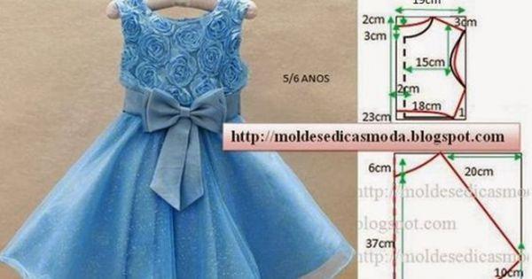 Нарядное платье для девочки своими руками быстро