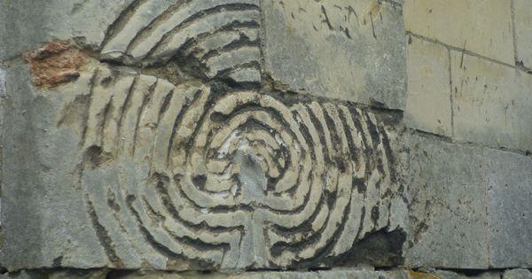 St Huibrechtshern Belgium Finger Labyrinth Wall Church Labyrinths Pinterest