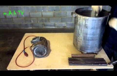 Как сделать сенорезку из стиральной машины