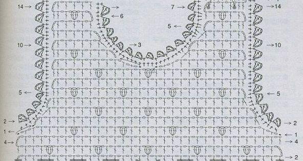 Сарафанчики крючком схема детям