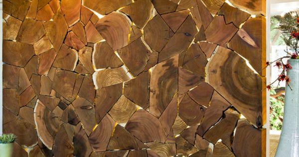 Декор своими руками из спилов дерева