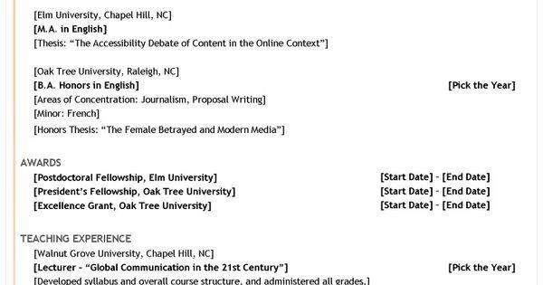 english essay help with writing english essays resume for - Curriculum Vitae Sample Postdoctoral Fellowship