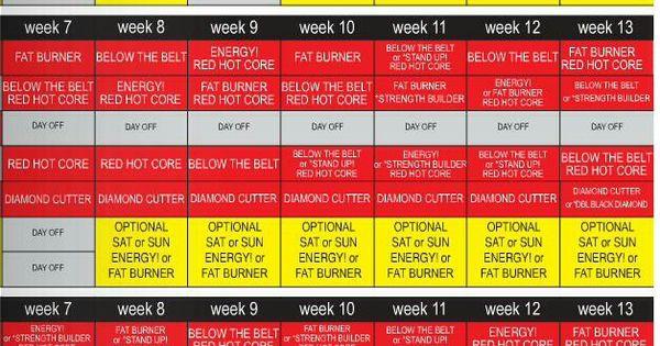 image regarding Ddp Yoga Schedule Printable named Ddp Yoga Routine Printable