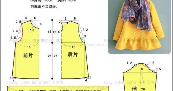 Выкройки детской платьев бесплатно