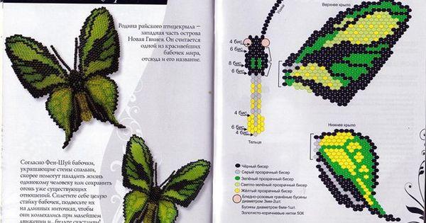 Бабочки оживший бисер наталья бушева