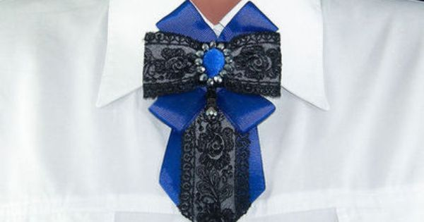 брошь-галстук Репсовые ленты_броши Pinterest