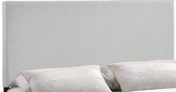Region Full Upholstered Headboard In Sky Gray Products Headboards