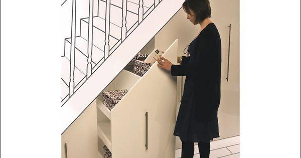 Books understairs design