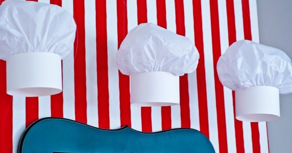How to Make a Halloween Chefs Hat pictures