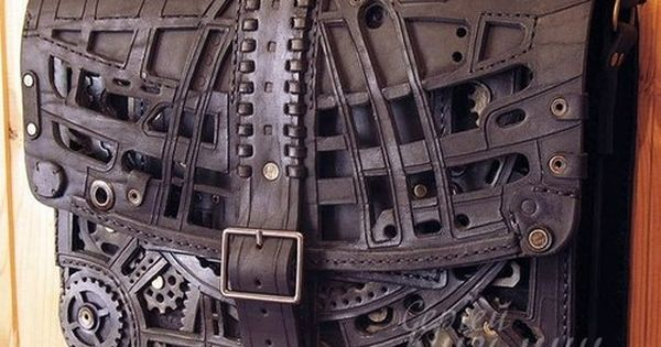 Steampunk bag I NEED THIS Pinterest Steampunk, Deri ve El Cantalar?