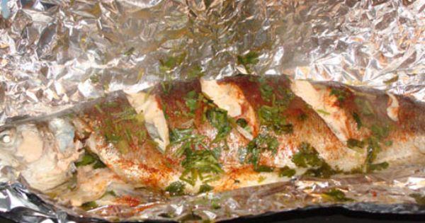 Как запечь речную рыбу в духовке с картошкой в фольге рецепт