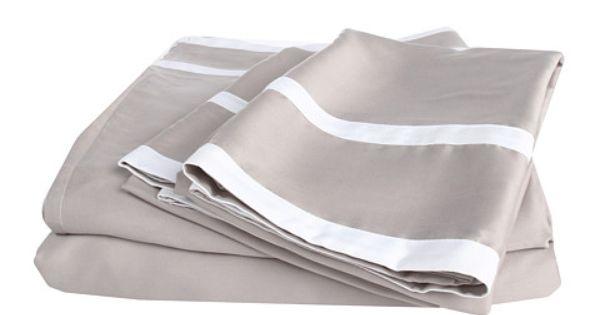 Blissliving Home Grace Sheet Set Queen Dove Grey Zappos Com Free
