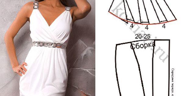Как сшит платье в греческом стиле 363