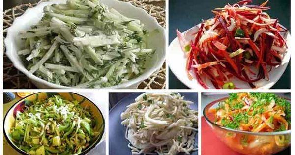 Вкусные диетические салаты рецепты