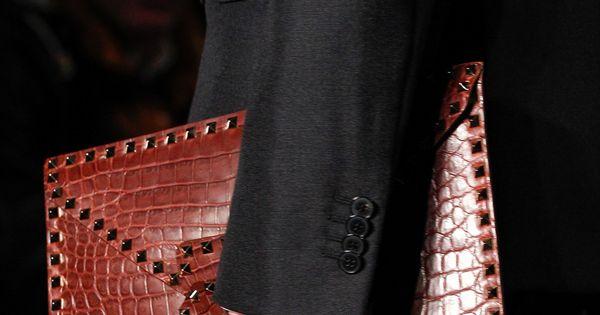 Valentino mens wear fashion show