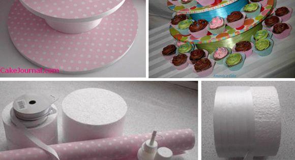 Как сделать подставки для кексов