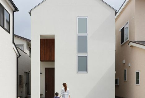 Hazukashi house by alts style office