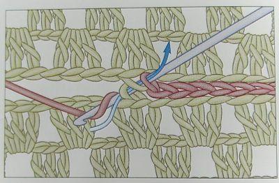 Способы соединения вязания крючком