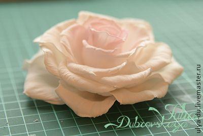 Розы из фоамирана  с пошаговым фото
