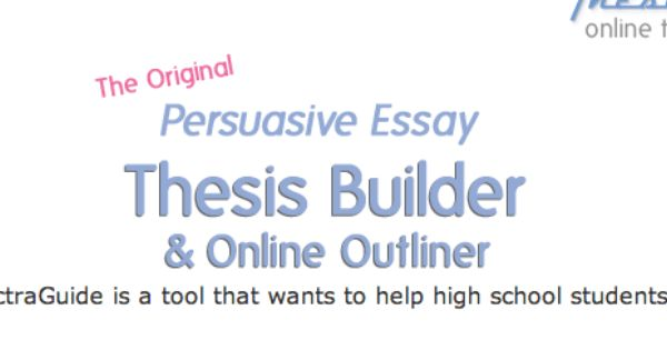 online thesis builder