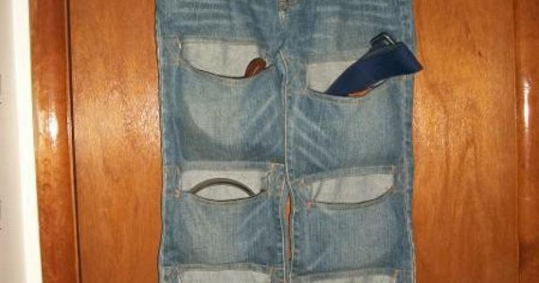 Что сшить из старых джинс из одежды