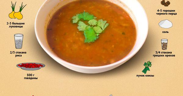 Рецепт как готовить суп харчо