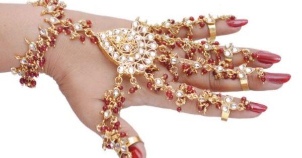 Индийский браслет на руку своими руками