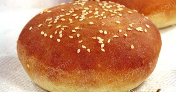 Рецепт теста для булочек для гамбургеров