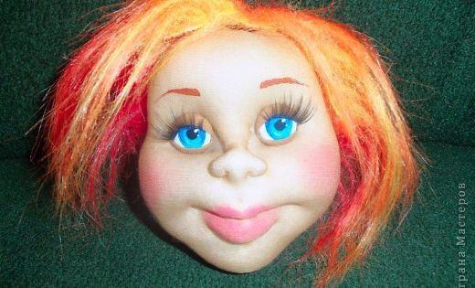 Мастер-класс Шитьё: Молодое женское лицо МК Капрон. Фото 1 куклы из чулок и носков Pinterest Tablolar
